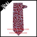 Lazos florales del 100% de la seda del Mens de encargo hecho a mano de la impresión