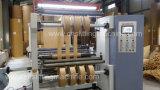 Machine à grande vitesse commandée par ordinateur de rebobinage de roulis pour le papier