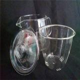 POT di vetro di salto del tè con la maniglia ed il coperchio, 900 ml