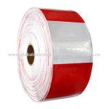 Bande r3fléchissante rouge et blanche de PVC pour le véhicule