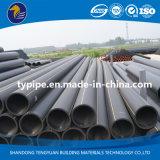 Encanamento plástico do HDPE do grande diâmetro para o gás