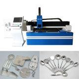 Máquina dobro do laser da fibra da movimentação com fonte de laser de Ipg