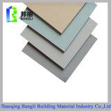 El panel plástico de aluminio revestido material de la decoración incombustible de la función