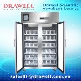 Refrigerador do banco de sangue de 4 graus (porta dobro) Mbc-4V1000