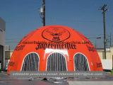 스포츠를 위한 큰 팽창식 천막 거미 돔