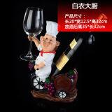 Het Rek van de Wijn van de Houder van de Wijn van het Meubilair van het Decor van het Huis van de Vorm van de chef-kok