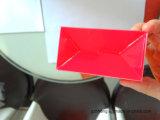 明確な折り畳み式ボール箱(foldableボックス)を押す紫外線コーティングホイル