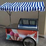 フリーザーが付いているSfhhのアイスクリームのカート
