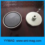 Ferrita de acero magnético ganchos Pot Magnet Car Holder