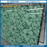 3-19mm Flat Tempered / Toughened Colored Art Vidro Manchado De Frit Manchado