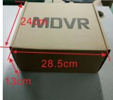 4CH HDD DVR System mit Doppel-Ableiter-Karte unterstützt 3/4G, GPS und Wi-FI