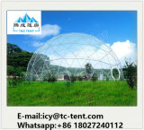 Barraca Geodesic da barraca da abóbada da meia esfera de Dia5-30m com tela do PVC