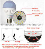 E27 B22 LED Micro-ondes Radar Inducteur Capteur Ball Intelligent Intelligent Ampoule Intellective