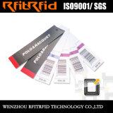 UHF/860-960MHzの長距離受動の衣類RFIDの札