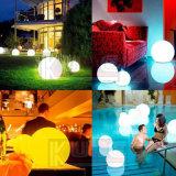 방수를 가진 정원을%s 건전지에 의하여 운영하는 다채로운 LED 공