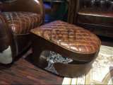 Кожаный конноспортивный стул седловины
