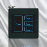 4명의 갱 라이트 터치 스위치 벽 스위치 플라스틱 프레임 (SK-T2300L4)