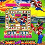 A máquina de jogo popular a mais nova de Mario do festival da fruta