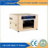 Boa qualidade Cmyk + 4 Máquina de impressão a jato de tinta branca A3 Size Glass Printer
