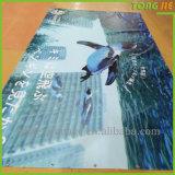 Drapeaux faits sur commande de PVC de frontière de sécurité de vinyle de maille