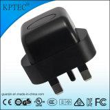 セリウムの証明書5V 1Aを持つKptec AC/DC USBの充電器