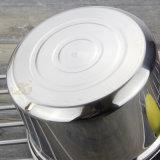 POT gonfiato dell'acciaio inossidabile con la maniglia (FT-01607)