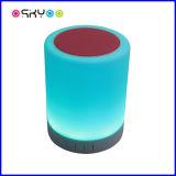 Lumière sèche de musique de haut-parleur sans fil de Bluetooth de lampe de contact de DEL