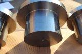 Torno de aluminio de alta velocidad del CNC del material