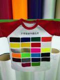 Helligkeit und weiches rosafarbenes Wärmeübertragung-Neonvinyl für Kleidung