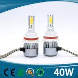 자동차 12V 40W 4500lms IP68 H7 H4 LED 헤드라이트