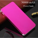30000 mAh Power Bank 2USB Carregador portátil Super Light Bateria externa Bateria de reserva para iPhone Sumsung Mobile Universal