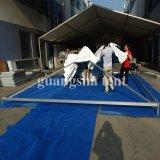 専門の防火効力のあるPergola商業PVCテントの玄関ひさし6m