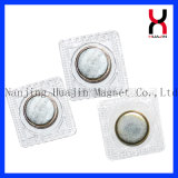 PVC磁気ボタンの/Sewingの磁気スナップ