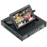 """10.5 """" LCD를 가진 3G WiFi HDMI P2p 8chs 960h DVR/NVR"""