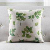 La giungla tropicale di verde dell'annata di caso del coperchio del cuscino lascia il cuscino dell'ammortizzatore