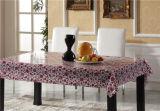 印刷されたパターンおよびOilproof防水機能が付いているPVC物質的な透過テーブルクロス