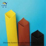 Isolamento fornito tubo doppio ignifugo dello Shrink di calore della parete della sbarra collettrice dell'UL per i cavi