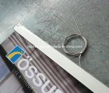 Drapeau s'arrêtant de tissu en aluminium de Pôle (SS-HB19)