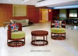 Het Kantoormeubilair van het Project van de Bank van de Conferentie van het Leer van de Zetel van Singel (Ul-S319)