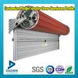 Roller puerta del obturador 6063 de la aleación de aluminio de extrusión de perfiles con anodizado Powder Coated