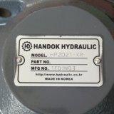De mini Hydraulische Pomp HP2D21 van het Graafwerktuig (UCHINDA)