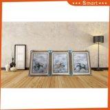 Домашнее мытье конспекта декора крася картину маслом группы 4 панелей на холстине