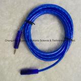 Enchufe de la estereofonia de la velocidad 3.5 al cable de 3.5 Jack/AV
