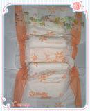 Couche-culotte remplaçable de bébé de Backsheet de couleur rose