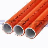 Tubo rojo del Pex-Al-Pex para la agua caliente bajo estándar europeo
