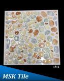 """12X12 """" 5Dの磨かれた水晶小石の床タイル1310年"""