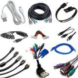 Daten-Kabel USB-Mac-Stecker-vertikales Spritzen, das Maschinen herstellt