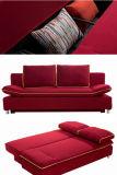 Ткань диван-кровать с хранения (VV982)