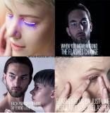 Wasserdichte LED-Wimpern mit 5 Blitz-Effekten