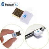 Transmisor sin hilos de Bluetooth del adaptador del receptor del sonido de la música del Dongle del adaptador V4.0 Bluetooth del USB Bluetooth para la PC del ordenador